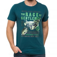 CAMISETA DIVERTIDA SLIM FIT M/C - VERDE INGLES