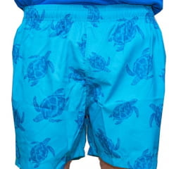 SHORT DE BANHO TYFON - BLUE TURTLES