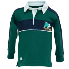 POLO BROWN RUGBY INFANTIL - IRELAND DISP. PAI FILHO