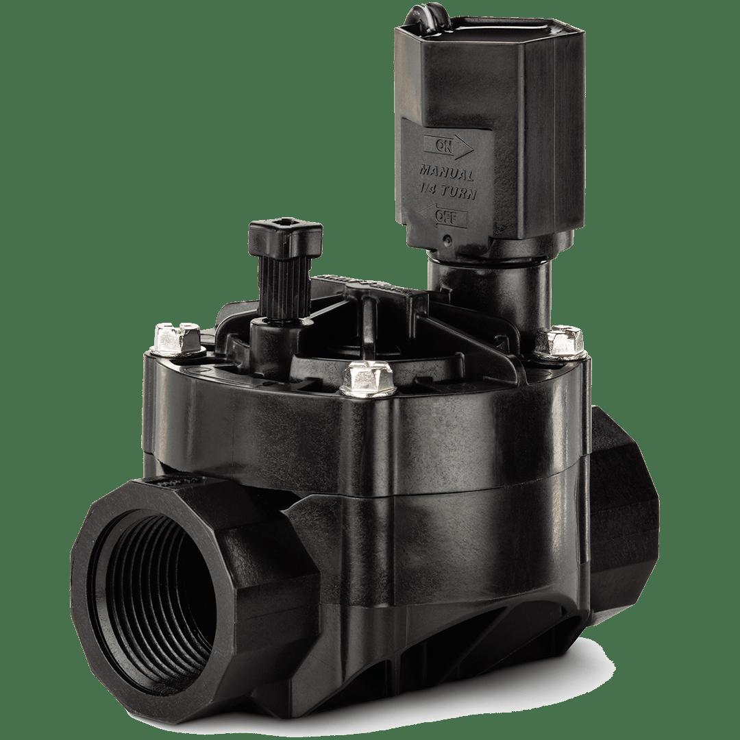 """Válvula elétrica para automação de irrigação em jardim ou agrícola válvulas solenoide 100-HV 1"""""""
