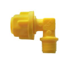 Joelho Micro tubo 1/8 x 8 mm - Irrigação - Gotejamento - Automação