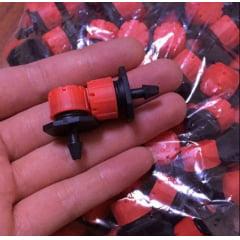 Gotejador para Mangueira 70 litros por hora D-70 (Kit 50 unidades)