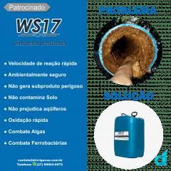 WS-17 Limpeza e Manutenção de Gotejamento e Microaspersão 29 Litros