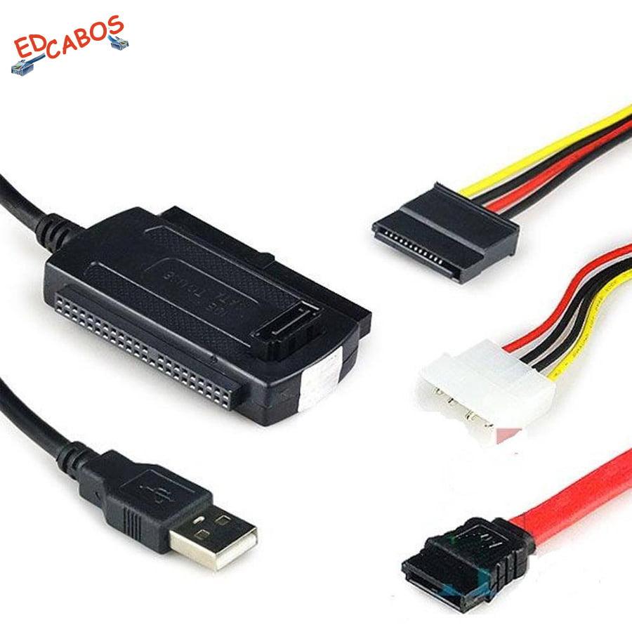 Cabo Adaptador SATA/IDE USB 2.0