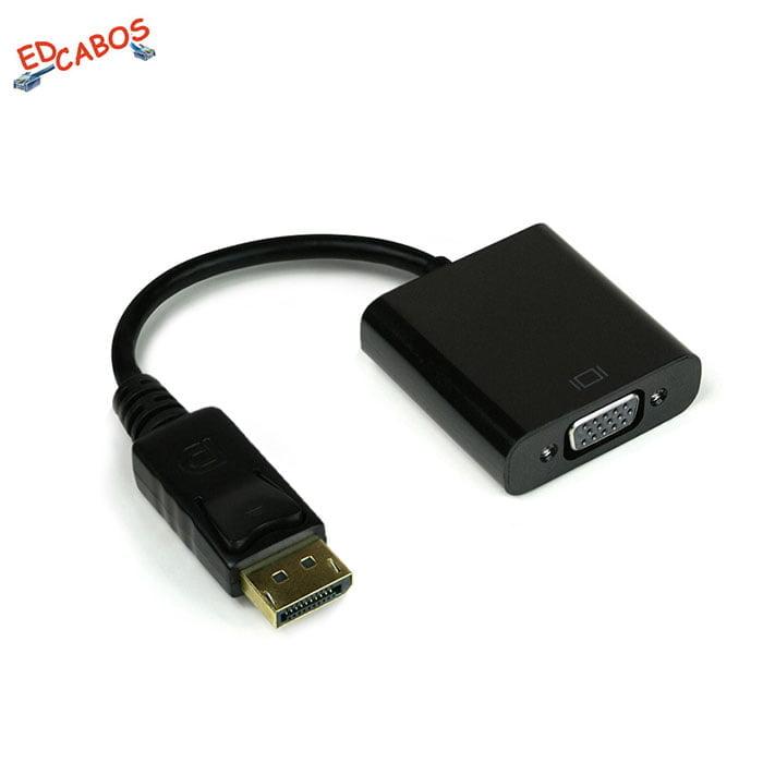 Cabo Adaptador DisplayPort para VGA RGB