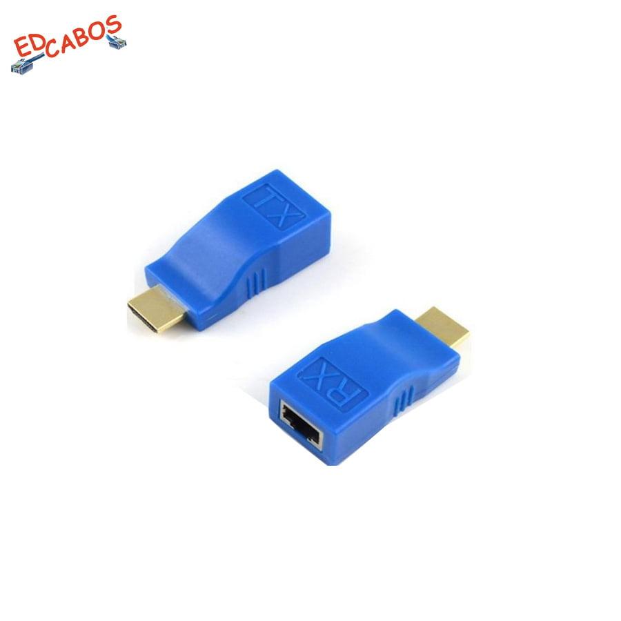Extensor HDMI 30 Metros Passivo via 1 Cabo de Rede