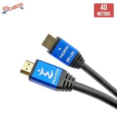 Cabo HDMI 2.0 40 Metros Ultra HD 19 Pinos 4K@60Hz