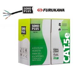 Cabo de Rede Soho Plus CAT5e 305 Metros Furukawa