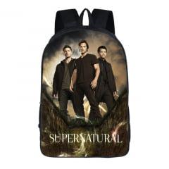Supernatural mochilas para escola ciclista motociclista supernatural serie