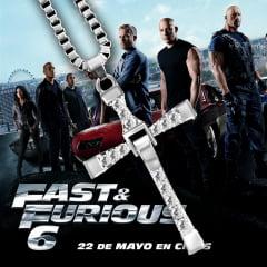 Velozes e furiosos colar com pingente de cruz  Dominic Toretto