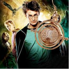 Colar pingente vira tempo Harry Potter