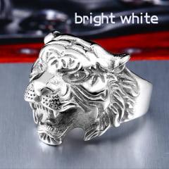 Anel cabeça de tigre em Aço Inoxidável 316L