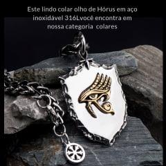 Anel  Olho de Horus  o Deus dos  Faraós Proteção e Poder