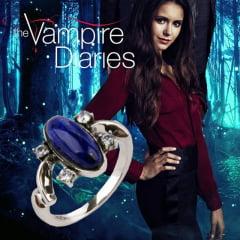 Diário de um Vampiro Anel do sol Elena Gilbert
