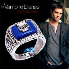 Diário de um vampiro Anel Jeremy Gilbert  The Vampire Diaries