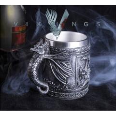 Vikings caneca de cerveja personalizadas em Aço Inoxidável série Vikings
