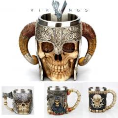 Vikings super canecas especiais personalizadas série vikings