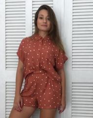 Conjunto Camisa e Bermuda de Poá