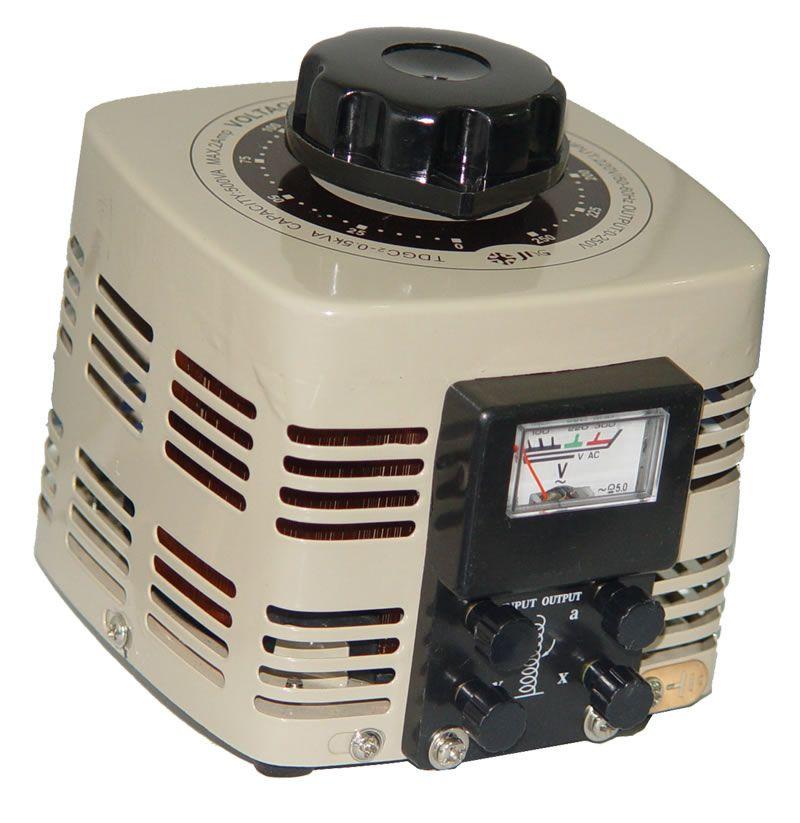 Variador de Voltagem Monofásico (Variac) 3 KVA, 12A - JNG - TDGC2-3