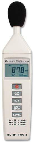 Decibelímetro -Tipo 2 - c/ saída AC - Minipa - MSL-1325A