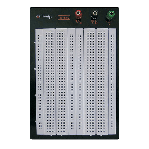 Protoboard 1680 furos c/ Base - Minipa - MP-1680A