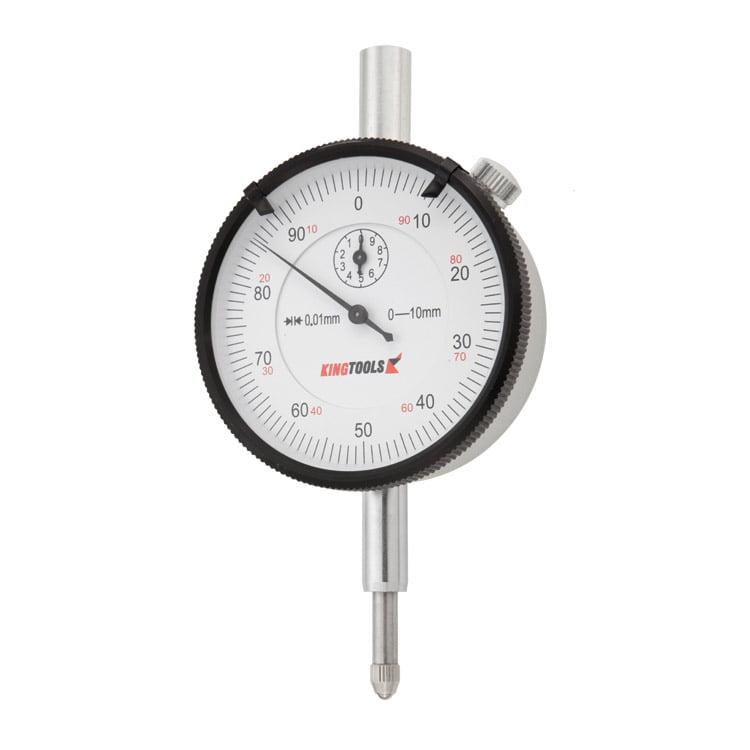 Relógio Comparador - (0-10mm/0,01mm) Alumínio - King Tools - 506.700