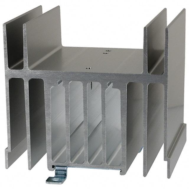 Dissipador de Alumínio para Relé de Estado Sólido 40A - Omron - Y92B-N150