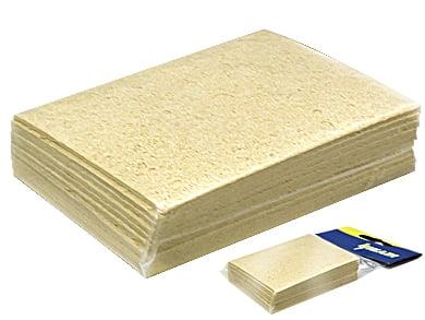 Esponja Vegetal 70x50x10mm (pct c/ 10x peças) - Hikari