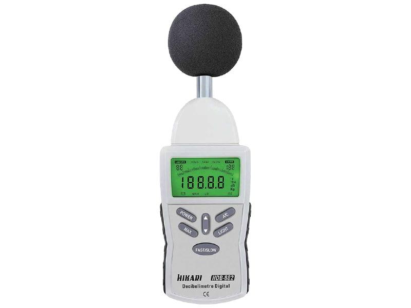 Decibelímetro - Tipo 2 - c/ saída AC - Hikari -  HDB-882
