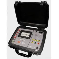 Megômetro Analógico (2TΩ/10kV)  Megabras   MI-10KVE
