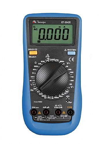 Multímetro True RMS - CAT III Minipa ET-2042E