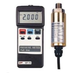 Manômetro Digital Portátil (opcional: sensores de 2 a 200 BAR) - MVR-87
