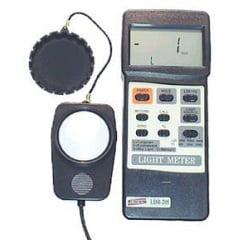 Luxímetro 50.000 Lux c/ RS-232 - LDR-208