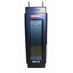 Medidor de Umidade de Madeira/Papel/Concreto/Argamassa  - MUMC-620