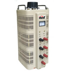 Variador de Voltagem Trifásico (Variac) 9 KVA, 12A - JNG - TSGC2-9