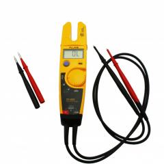 Testador de Tensão (600Vca/cc)/Corrente (100Aca)/Resistência (1000ohms)  CAT III -  Fluke  T5-600