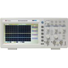 Osciloscópio 50MHz 2 canais, 1GS/s LCD Minipa - MVB-DSO-50