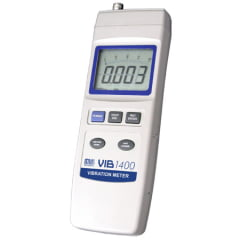Medidor  de Vibração - Veloc/Acel/Desloc/RS-232/Data Logger - VIB-1400