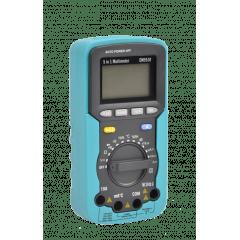 Multímetro 5x1 - Mult - Decib-Temp-Umid-Lux  - EM-5510