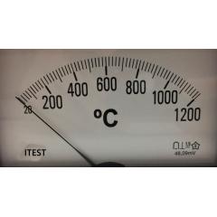 Indicador Temperatura 20a1200ºC-K- BM-116P-1200-K - Prazo Entrega = 10 dias úteis