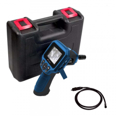 "Boroscópio 9mm, Display 2,7"", RCA /USB, Aceita Cartão MicroSD, Filma/Fotografa - Minipa - MBR-270"