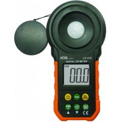 Luxímetro p/ LED 200.000 Lux - LD-570