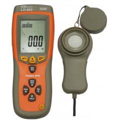 Luxímetro 400.000 Lux c/ Data Logger e USB- LD-800