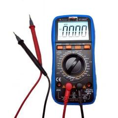 Multímetro c/ Indutância e Cap - CAT III - Minipa - ET-2082D