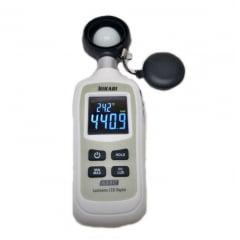Mini Luxímetro p/ LED Branco 200.000 Lux - Hikari - HLX-912