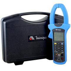 Alicate Wattímetro/Fasímetro Trifásico CAT IV - TRMS, Harmônicos c/ Data Logger-USB - ET-4055A