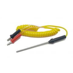 Sensor de Temperatura K (com Conector Banana - 250ºC) - Minipa - MTK-02