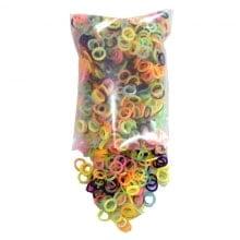 Elásticos Coloridos para confecção de laços e gravatas