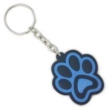 Chaveiro Patinha Dog Azul