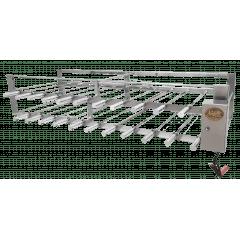 Churrasqueira Rotativa 22 espetos Sob Medida (sistema de corrente)